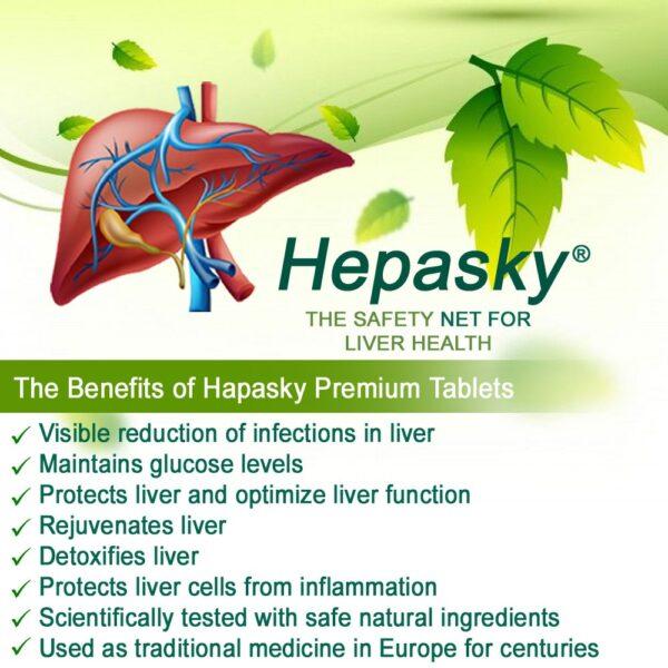 Hepasky Tablets - ayurvedic medicine for liver